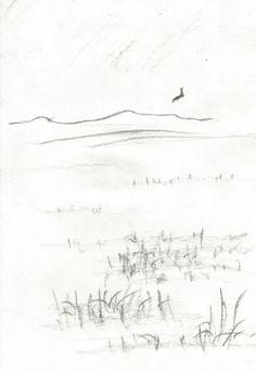 łąka by kajtek21.deviantart.com on @DeviantArt Drawing Sketches, Drawings, Pencil, Landscape, Outdoor, Outdoors, Scenery, Sketches, Outdoor Games