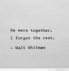 Whitman in Love