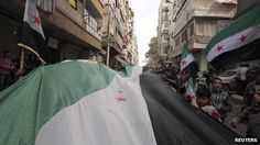 Syria conflict: from peaceful protest to civil war