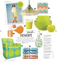 Bemz featured in Style at Home - Canada, April 2013. www.bemz.com