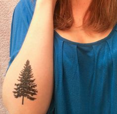 Hey, I found this really awesome Etsy listing at https://www.etsy.com/listing/174687851/2-pine-tree-temporary-tattoos-smashtat