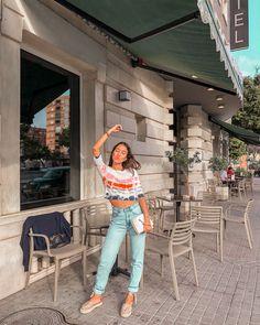 Melissa Villarreal x Alohas sandals Flat Espadrille Sandals, Red Espadrilles, Camel Sandals, Jakarta, Sustainable Fashion, Summer Outfits, Capri Pants, Dress Up, Ootd