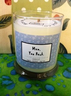 Soy Much Brighter Vase Candle –  Mom, You Rock