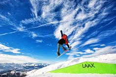 LAAX Snowpark, Snowboard jump Snowboarding, Skiing, Mount Everest, Mountains, Nature, Travel, Snow Board, Ski, Naturaleza