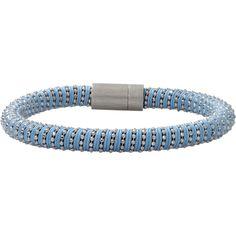 Carolina Bucci Celeste Twister Band Bracelet (4,270 MXN) ❤ liked on Polyvore featuring jewelry, bracelets, pandora jewelry, carolina bucci, jade bangle, bracelets & bangles y cicret bracelet