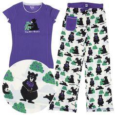 Lazy One Huckle-Berry Cotton Pajamas for Juniors http://www.crazyforbargains.com/lazy-one-pajama-set-huckle-berry.html