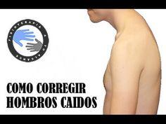 Como corregir la postura de la espalda encorvada mediante ejercicios / Fisioterapia a tu alcance - YouTube