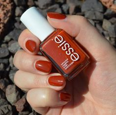 Colors From Essie Nail Polish Capture Japanese Autumn Playing Koi Teal Acrylic Nails, French Acrylic Nails, Essie Nail Polish Colors, Gel Nail Colors, Fall Nail Polish, Pretty Nail Colors, Fall Nail Designs, Art Designs, Nagel Gel