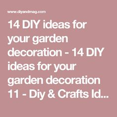 Use old tools instead of new furniture when you are decorating your garden so you can both make a profit and catch a creative image. Here's 14 wonderful recycling idea. Quilt Hangers, Old Tools, New Furniture, Sewing Crafts, Diys, Gardening, Decor, Check, Gardens