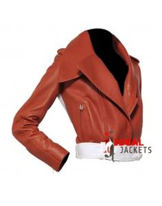 Modernistic Napa Leather Jacket Cost $200.00