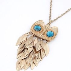 """Cute Retro Owl Vintage Necklace Brand New - Orders will be shipped the same business day. 27.5"""" Jewelry Necklaces"""