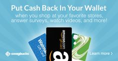 Reward yourself with free gift cards for Shopping, Searching and Discovering stuff online.