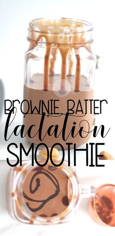 Brownie Batter Lactation Smoothie OMG YES! A lactation smoothie that tastes like brownie batter! Now I can master some of these sugar cravings with a lactation smoothie that is like dessert! Plus it is full of nutrients and protein. Breastfeeding Smoothie, Breastfeeding Snacks, Lactation Recipes, Lactation Cookies, Lactation Foods, Milk Booster, Lactation Smoothie, Increase Milk Supply, Brownie Batter