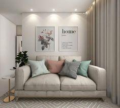 Uma sala pequena precisa ser muito bem pensada para que não fique entulhada. Confira no nosso blog dicas de ouro para decorar sua casa.