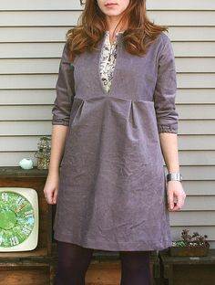 Schoolhouse Tunic by sew liberated (Hi, Jenna!)