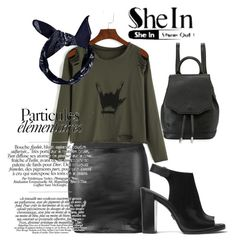 """SheIn Contest"" by goldenttt ❤ liked on Polyvore featuring Michael Kors, rag & bone and Boohoo"