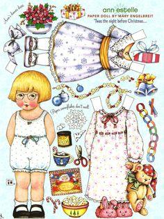 Miss Missy Paper Dolls: ann estelle