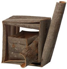 Dorothy Gill Barnes - Folded Bass Wood Bark
