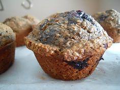 Jesse's Kitchen: Blackberry Bran Muffins