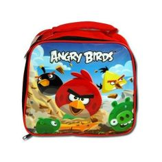 Angry Birds Insulated Lunch Bag by Angry Birds. $9.60. Licensed Rovio Angry Birds RED Insulated Lunch Bag