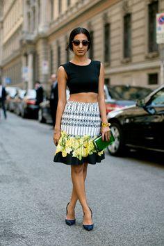 Street fashion: Mediolan, Tydzień Mody Męskiej, 23.06.2013, fot. Imaxtree