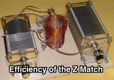 various configurations of the z match tuner are tested for power efficiency over a wide range of antenna load conditions . This resource is listed under Antennas/Theory/Impedance matching