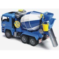 Bruder 2744 - MAN Betonauto - T-Toys Agrarisch speelgoed