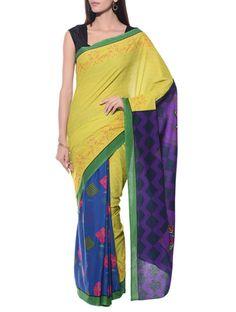 Buy Radio Rani multi color cotton  Online, , LimeRoad