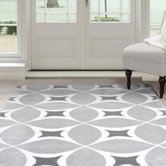 Shop Mohawk Home Rectangular Gray Solid Tufted Area Rug