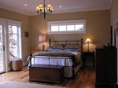 Master Bedroom pretty bed frame