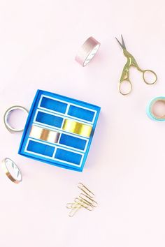 diy washi tape holde