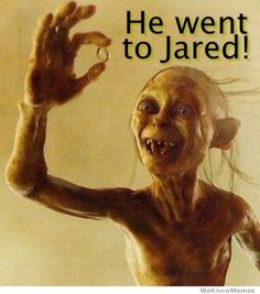 Gollum JARED RING