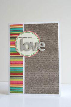 Love Card by Jillibean Soup