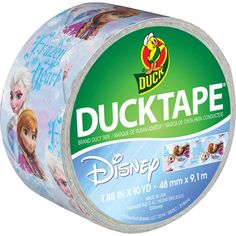 Duck Brand Disney Frozen Duct Tape, Anna and Elsa: Sealants, Fillers & Adhesives : Walmart.com