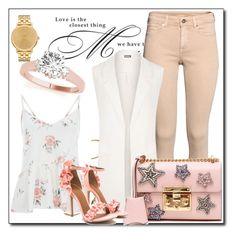 """""""Love is magic"""" by azrapjanic27 ❤ liked on Polyvore featuring WALL, H&M, WearAll, Gucci and Nixon"""