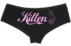 """Rosa pantie Rose Noir XS S 34 36 /""""I Love You/"""" I LOVE PINK /""""Pointe Low Rise"""