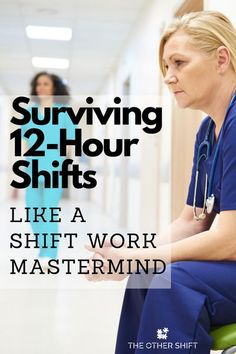 Are you finding yourself putting in longer and longer hours at the office, to the point where you are working 12 hour shifts regularly. A work / life balance is critical to ones mental health and sometimes where your shift length is unavoidable, you might need some help on making the most from long hours. Hear from shift workers who've been in your situation and how we avoided getting burnt out. | nursing | tips for working long hours | long hours at work | #nightshiftnurse #workneverends Nursing Career, Nursing Tips, Shift Work Sleep Disorder, 12 Hour Shifts, Community Nursing, Nursing Process, Night Shift Nurse, Becoming A Nurse, New Nurse