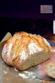Homemade bread without kneading Vegan Lemon Cake, Chilean Recipes, Easy Vegan Dinner, Vegan Comfort Food, Pan Bread, Sin Gluten, Bread Recipes, Sweet Tooth, Bakery