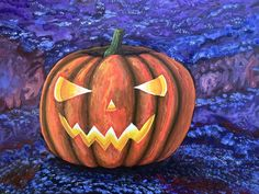 """Banksy's Halloween Grin Reaper 🎃 is an ode from me to Banksy and his famous """"Grin Reaper"""". 18 x 24 inches acrylic on board $2400 usd Grin Reaper, International Artist, Abstract Styles, Banksy, Pumpkin Carving, Halloween, Board, Painting, Colombia"""