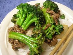 beef and broccoli stir fry - delicious!