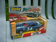 Dinky 201 Plymouth Stock Car