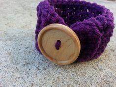 Your place to buy and sell all things handmade Deep Purple, My Etsy Shop, Buttons, Bracelet, Big, How To Make, Handmade, Stuff To Buy, Bangle
