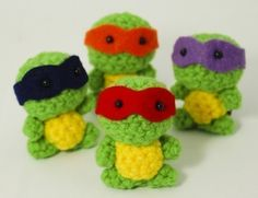 tmnt- luv these. Cute!