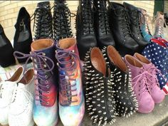 JEFFREY CAMPBELL SHOE COLLECTION by grav3yardgirl