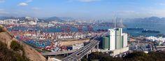 Hong Kong container shipping