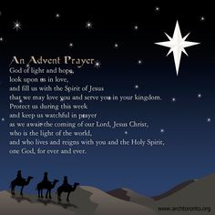 Uplifting and inspiring prayer, scripture, poems & more! Discover prayers by topics, find daily prayers for meditation or submit your online prayer request. Advent Catholic, 2 Advent, Catholic Prayers, Advent Ideas, Advent Scripture, Catholic Beliefs, Catholic Kids, Roman Catholic, Christmas Prayer