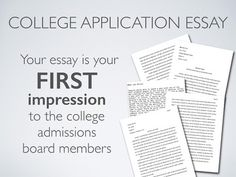 Writing a successful college application essays 4