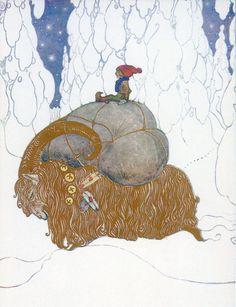 John Bauer Art: Trolls, Fairy Tales and Folk Tales - Swedish (1882 - 1918)