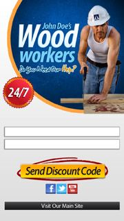 Wood Worker / Carpenters Mobile Website Landing Page.  Contact us : +606 2922643 | Melaka Creative Mobile Website - Malaysia's leading Mobile Website company. http://CreativeMobileWebsite.com