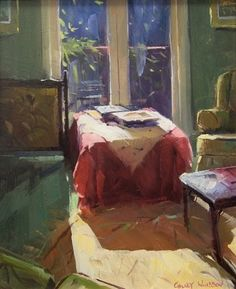 New Workshop Announcement: Colley Whisson's 4-Day Workshop: Impressionist Painting in Oils, painting by artist Qiang Huang